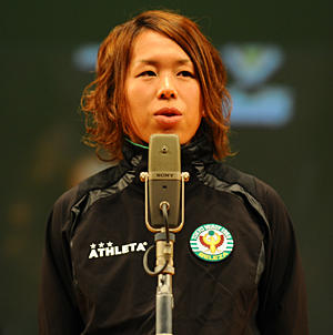 日テレ・ベレーザキャプテン 岩清水梓選手