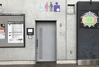 トイレ入口:画像