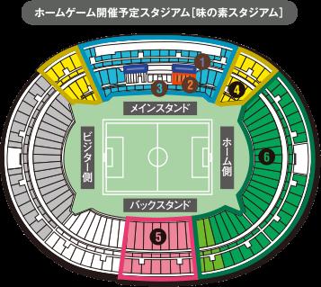 ホームゲーム開催予定スタジアム[味の素スタジアム]:画像